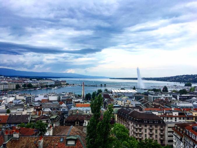 geneva from the top