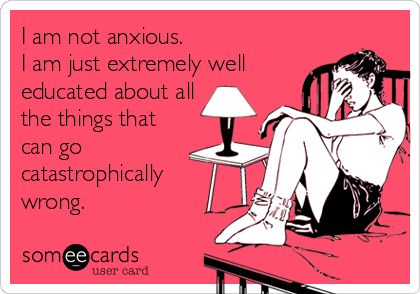 anxiety funny